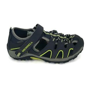 Merrell Youth Shoes Size 2W Blue H20 Water